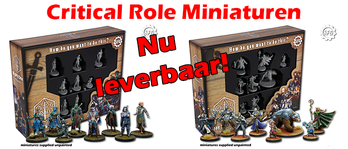 Slider Critical Role miniaturen